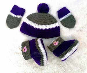 New Born Crochet Gift Set   Children's Clothing for sale in Lagos State, Ikeja