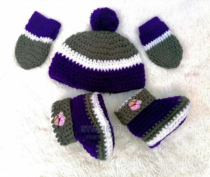 New Born Crochet Gift Set
