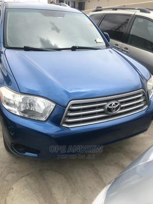 Toyota Highlander 2008 Blue   Cars for sale in Oyo State, Oluyole