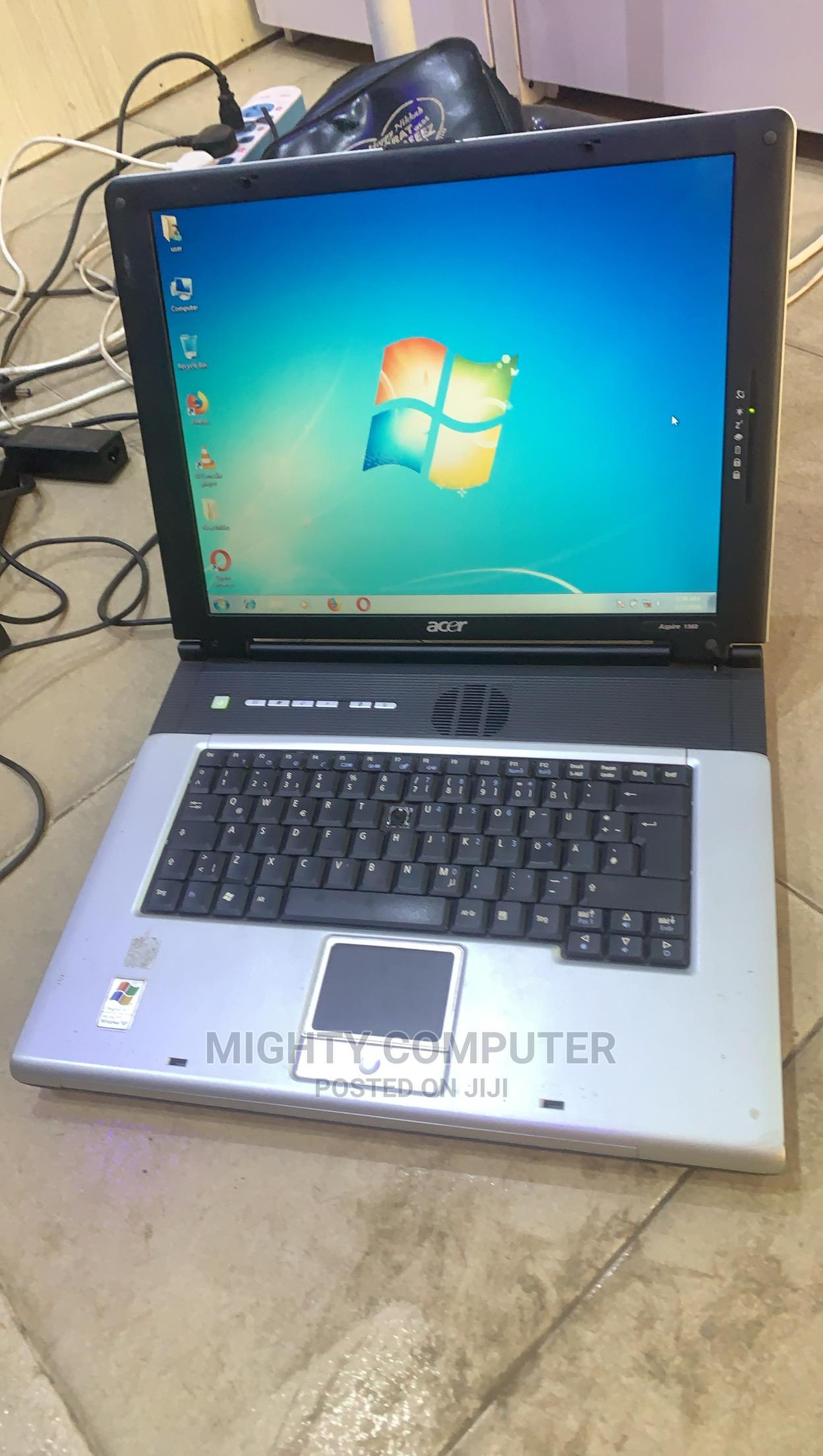 Laptop Acer Aspire 1360 1GB AMD 60GB   Laptops & Computers for sale in Akinyele, Oyo State, Nigeria