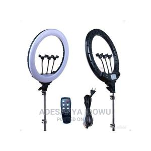 18inches Ring Light With Remote Control | Accessories & Supplies for Electronics for sale in Oyo State, Ibadan