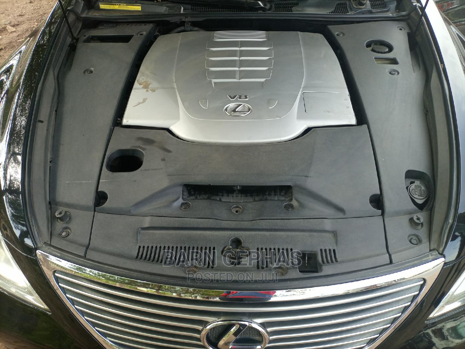 Lexus LS 2007 460 L Luxury Sedan Black | Cars for sale in Central Business District, Abuja (FCT) State, Nigeria