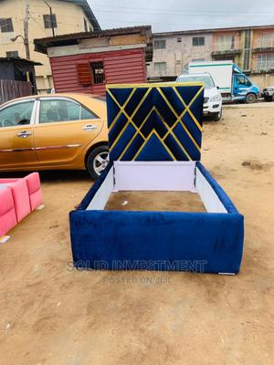 4/6 Upholstery Tufted Bed Frame | Furniture for sale in Lagos State, Lekki
