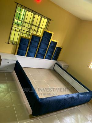 6/6 Padded Portable Bed Frame,Two Side Drawers and Footrest   Furniture for sale in Lagos State, Ajah