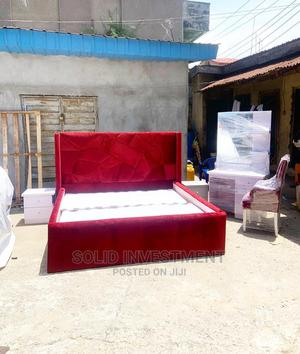 6/6 Upholstery Tufted Bedframe , Two Side Drawers | Furniture for sale in Lagos State, Ajah