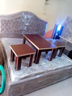 6/6 Upholstery Bedframe ,With Two Side Drawers,Dressing Mirr | Furniture for sale in Lagos State, Ajah
