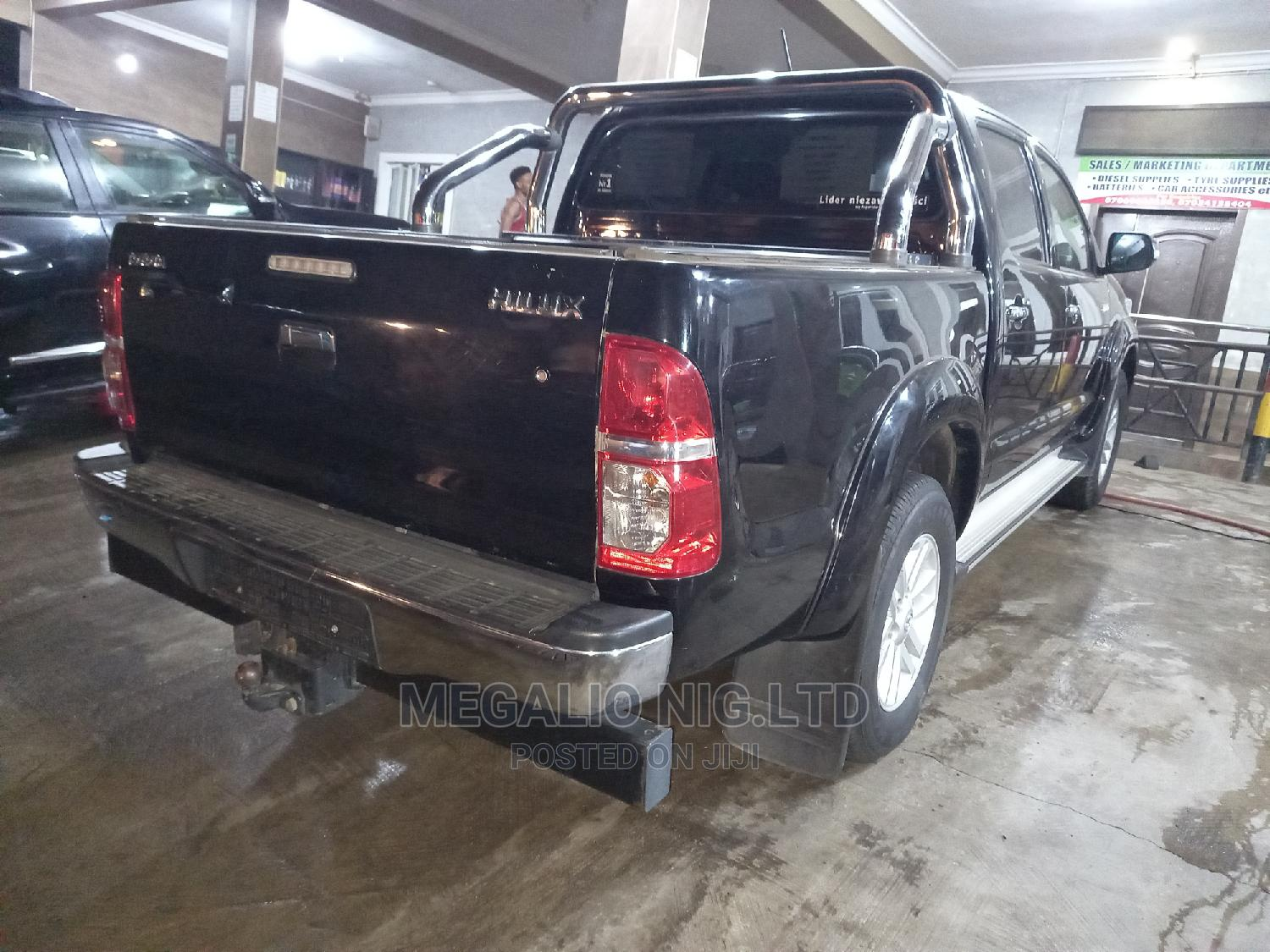 Toyota Hilux 2015 WORKMATE Black   Cars for sale in Ikeja, Lagos State, Nigeria