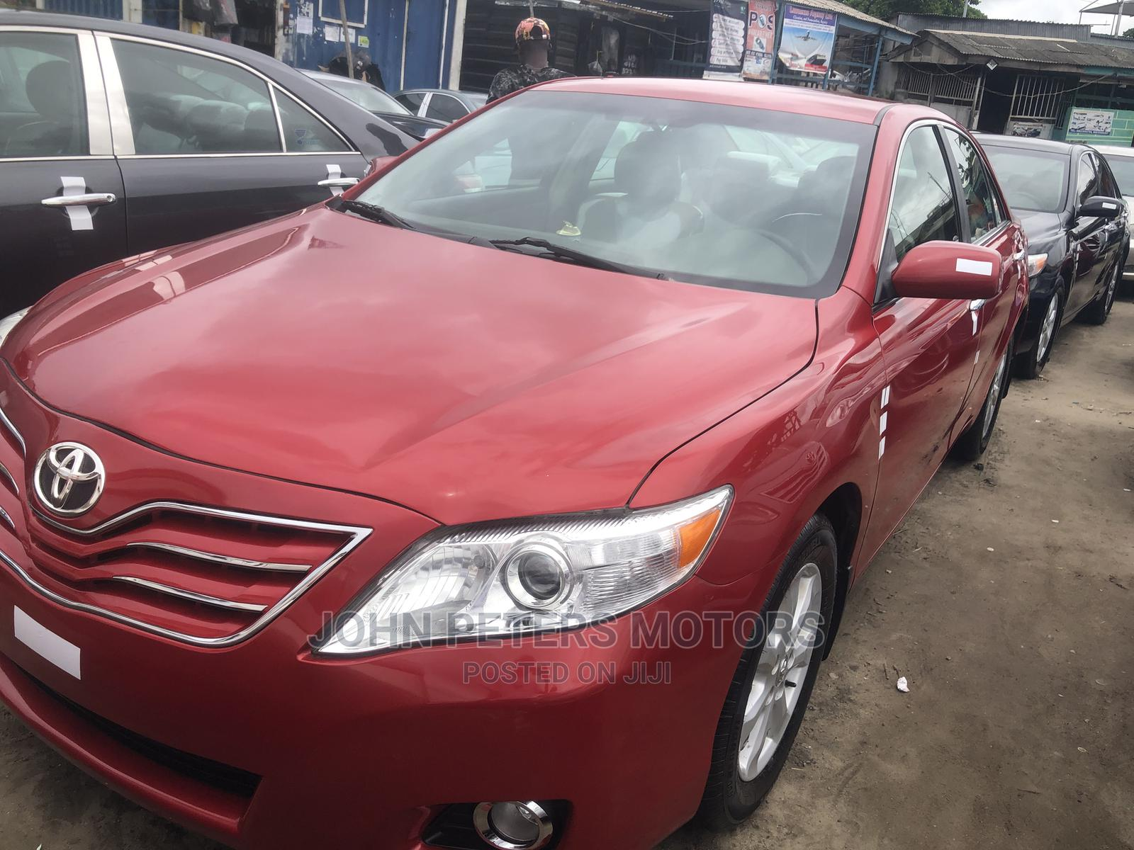 Toyota Camry 2007 Red | Cars for sale in Apapa, Lagos State, Nigeria