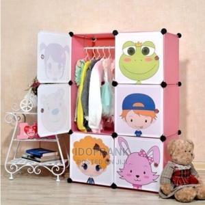 6-Door Baby Storage Cabinet Wardrobe Cartoon Character | Children's Furniture for sale in Lagos State, Amuwo-Odofin