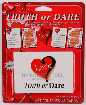 Love Truth or Dare Card Game Thats All About Love | Books & Games for sale in Lagos State, Lekki