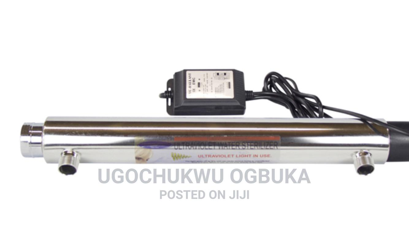 Uv Light System for Water Treatment Plant