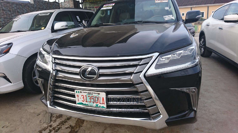 Lexus LX 2017 Black