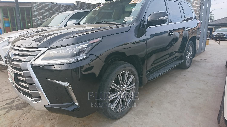 Lexus LX 2017 Black   Cars for sale in Isolo, Lagos State, Nigeria