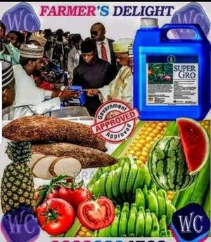 Organic Super Gro Fertilizer 5litres*2 | Feeds, Supplements & Seeds for sale in Lagos State, Ikeja