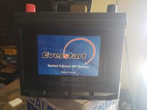 80ah Everstart Original Korean Battery | Vehicle Parts & Accessories for sale in Lagos State, Ikoyi