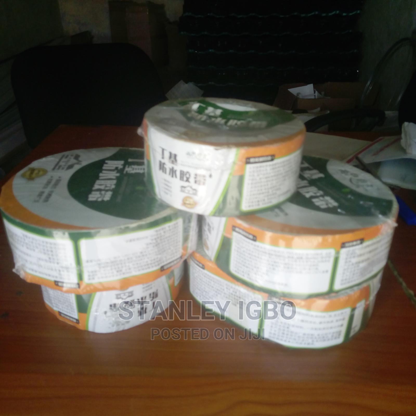 Archive: Butyl Rubber Waterproof Tape