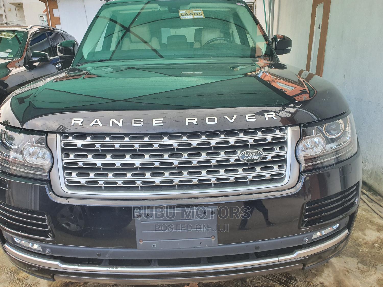 Land Rover Range Rover Sport 2015 Black