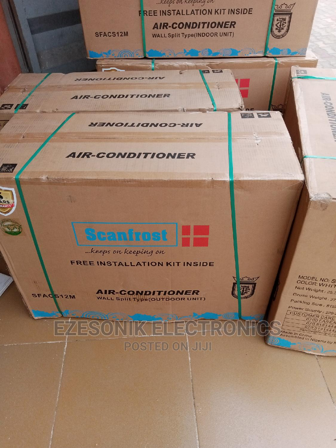 Scanfrost Air Conditioner 1,5hp