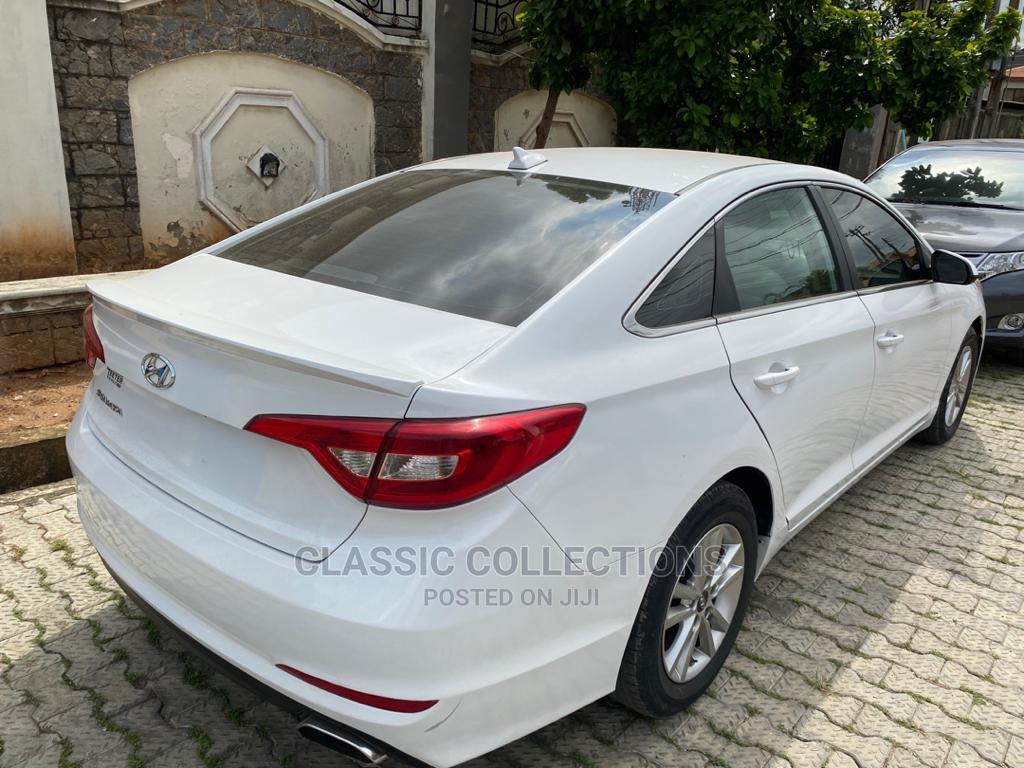 Hyundai Sonata 2015 White | Cars for sale in Magodo, Lagos State, Nigeria