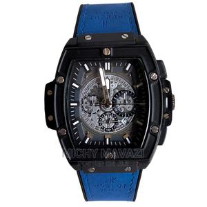 Men Leather Wristwatch | Watches for sale in Lagos State, Kosofe