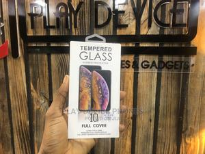 Tempered Glass Screen Protector 10D Full Cover 8G - Black | Accessories for Mobile Phones & Tablets for sale in Lagos State, Ikeja