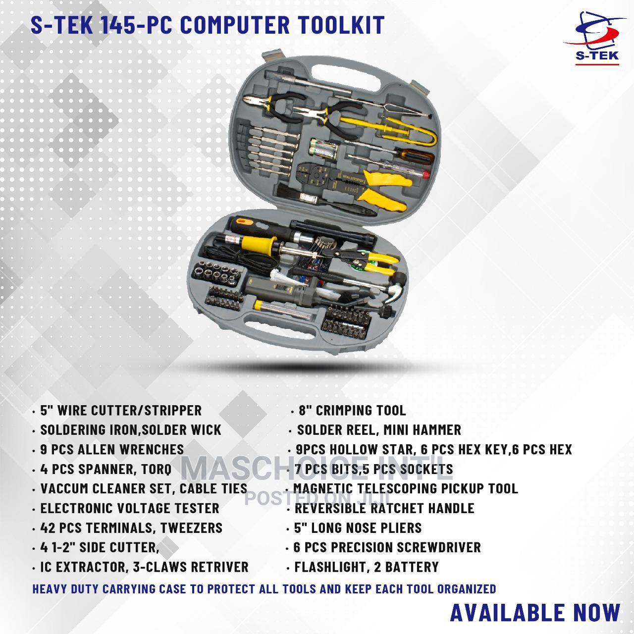S-tek 145piece Networking Tool KIT
