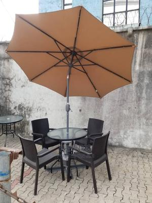 Complete Set of Chair and Umbrella | Furniture for sale in Lagos State, Ojo