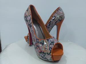 Glitter Ladies High Heels Sandals | Shoes for sale in Lagos State, Ajah