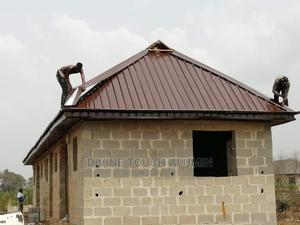 Best Brown Aluminum Roofing Sheets Long Span | Building Materials for sale in Ogun State, Ifo