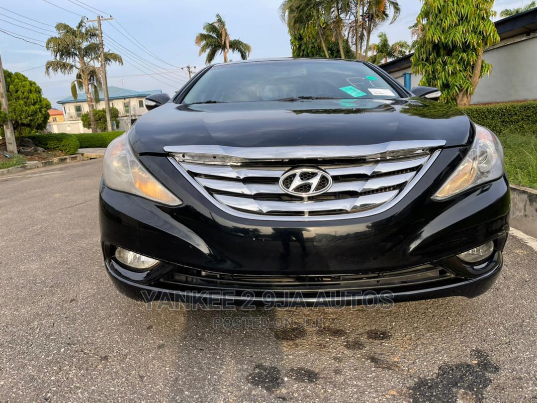 Hyundai Sonata 2014 Black | Cars for sale in Ikeja, Lagos State, Nigeria