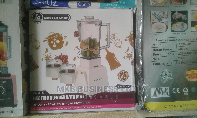 Master Chef Blender | Kitchen Appliances for sale in Akinyele, Oyo State, Nigeria