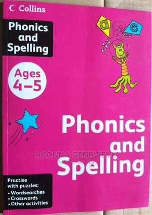 Collins Phonics and Spelling for Age 4-5 | Books & Games for sale in Lagos State, Yaba