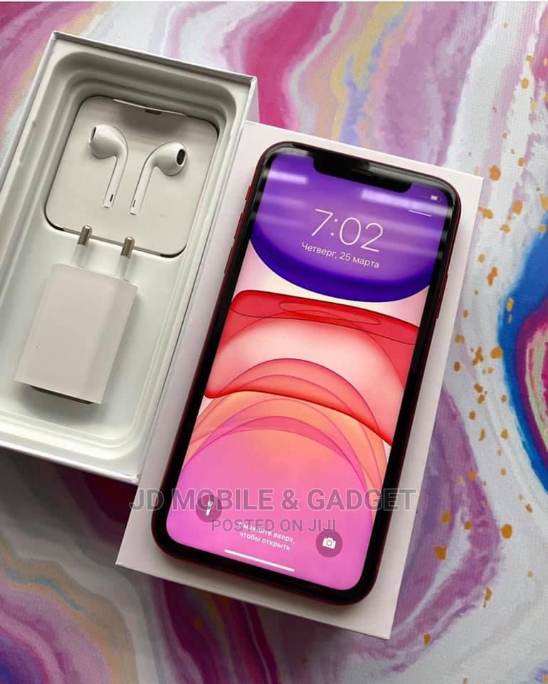 Apple iPhone 11 128 GB Red   Mobile Phones for sale in Amuwo-Odofin, Lagos State, Nigeria