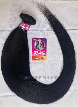 30 Inches Brazilian Straight With Closure Human Hair   Hair Beauty for sale in Lagos State, Ojodu