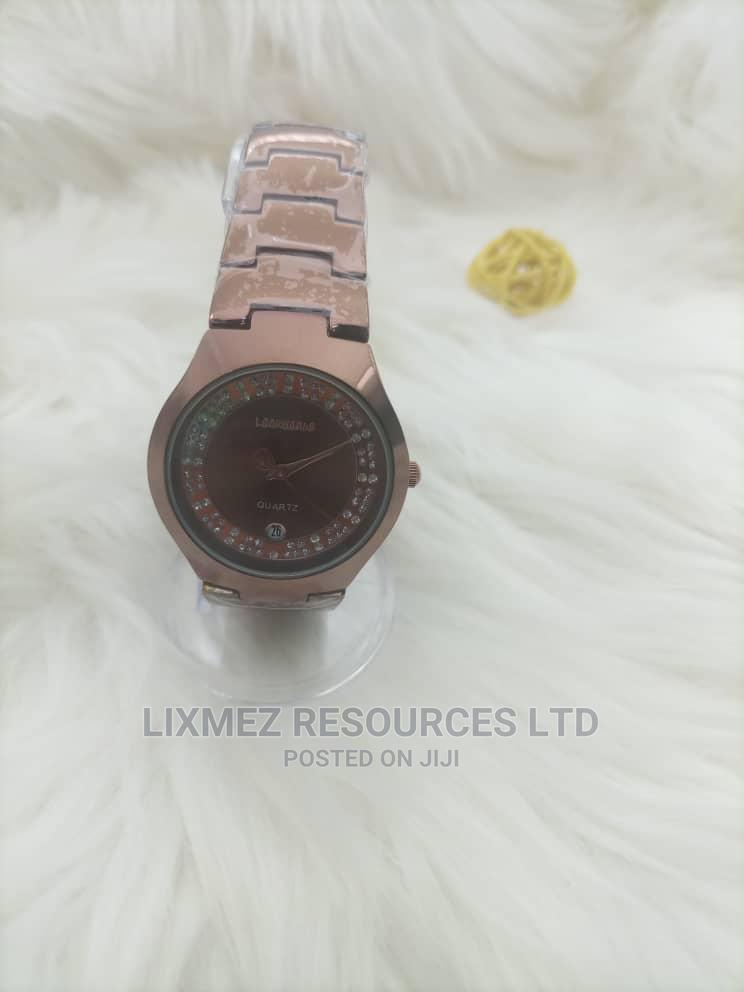 Lookword Rose Gold With Rose Gold Face