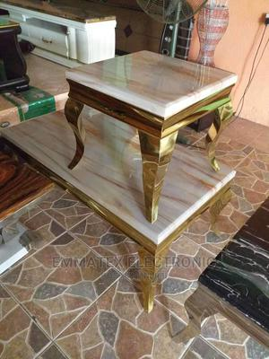 Marble Center Table and With Side Table Only | Furniture for sale in Lagos State, Ajah