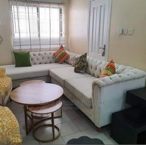 Chesterfield L Shape Sofa   Furniture for sale in Lagos State, Ogudu