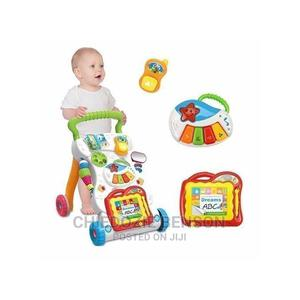 Children's Baby Walker - Baby Learn Walk Stand Trolley Toys | Toys for sale in Lagos State, Shomolu