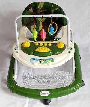 Baby Walker- Army Green With Music | Children's Gear & Safety for sale in Lagos State, Lagos Island (Eko)