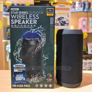 REMAX RB-M28 Pro Portable Waterproof Bluetooth Speaker   Audio & Music Equipment for sale in Lagos State, Ikeja