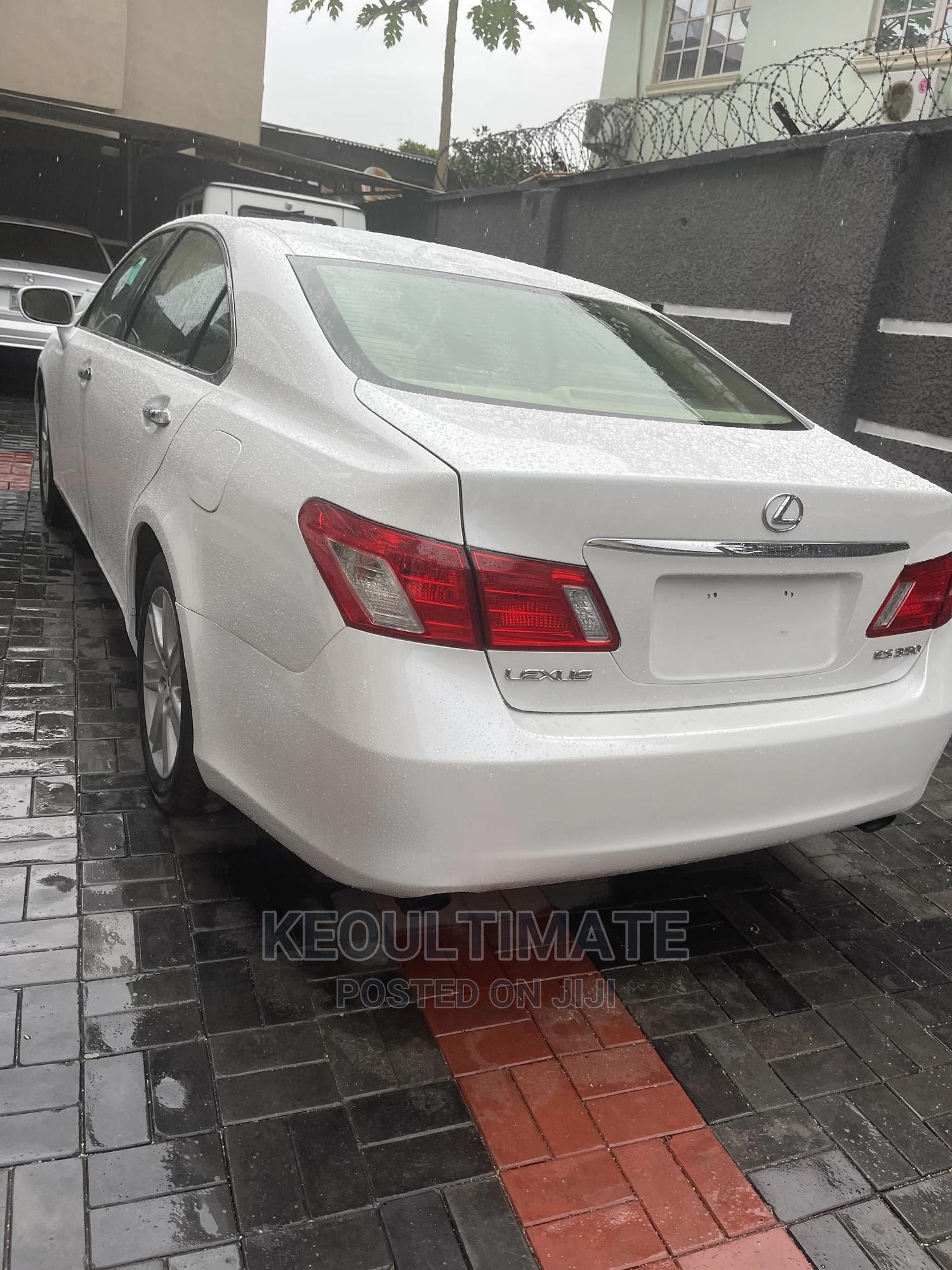 Lexus ES 2008 350 White | Cars for sale in Surulere, Lagos State, Nigeria