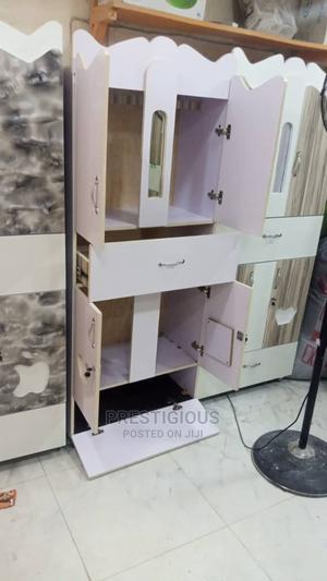 White Baby Wardrobe   Children's Furniture for sale in Lagos State, Ifako-Ijaiye