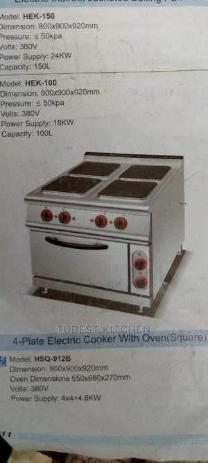 Electric Cooker With Oven 4 Burners | Restaurant & Catering Equipment for sale in Lagos State, Ojo