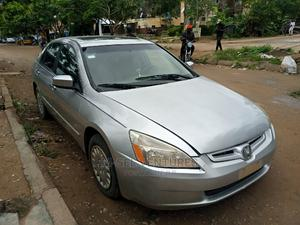 Honda Accord 2004 Automatic Silver | Cars for sale in Lagos State, Isolo