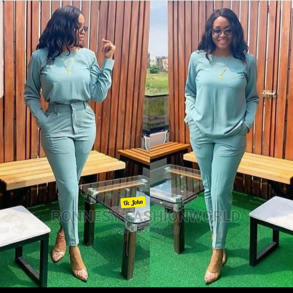 Elegant Classic Female Quality Pant Trouser And Top | Clothing for sale in Ikeja, Lagos State, Nigeria