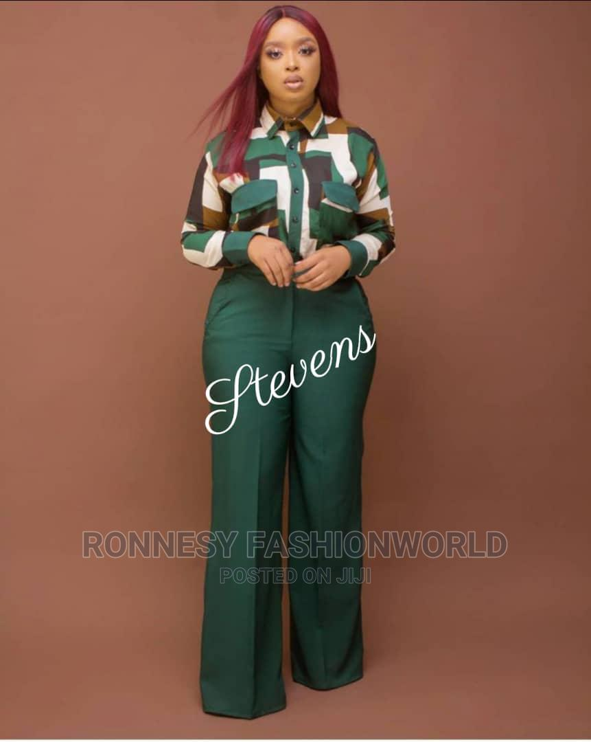 Elegant Classic Female Quality Pant Trouser And Top