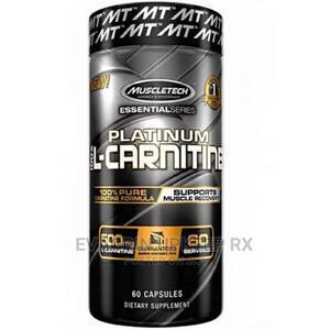 Muscletech Platinum L-Carnitine 500mg 60capsules   Vitamins & Supplements for sale in Enugu State, Enugu