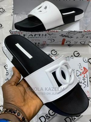 Quality Designer Dolce Gabbana Slippers Available for U | Shoes for sale in Lagos State, Lagos Island (Eko)