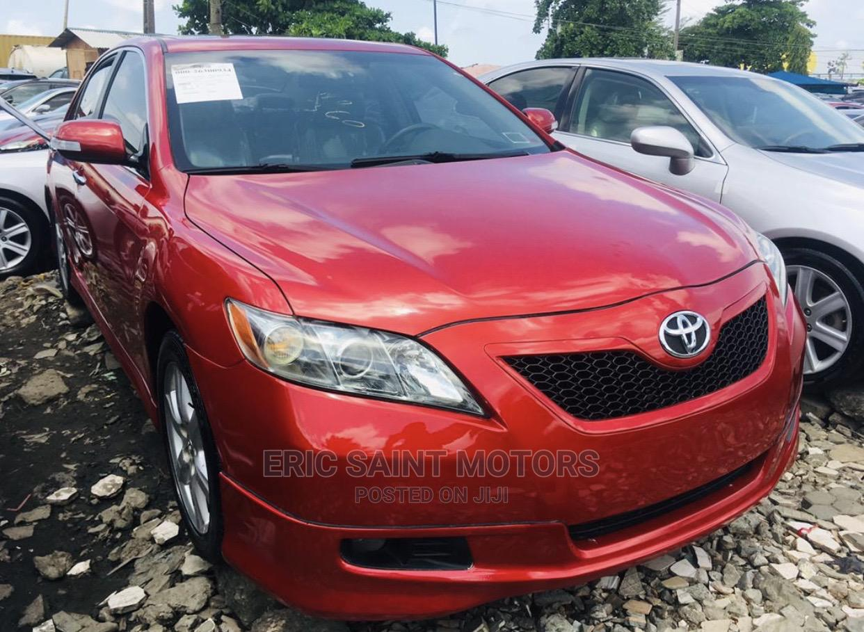 Toyota Camry 2009 Red   Cars for sale in Amuwo-Odofin, Lagos State, Nigeria