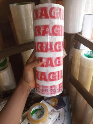 FRAGIL TAPE Per Roll | Stationery for sale in Lagos State, Lagos Island (Eko)